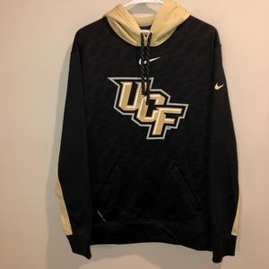 Nike therma-fit UCF pullover hoodie black/ gold